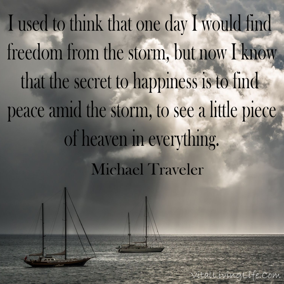 Find Peace In the Storm